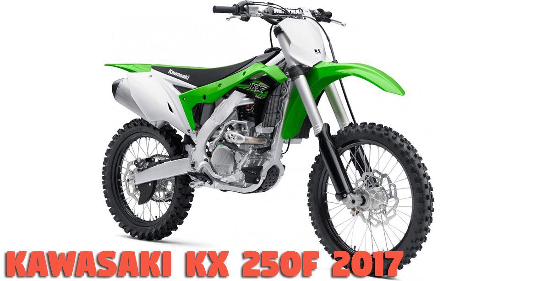 Kawasaki KX 250F 2017 e suas características especiais