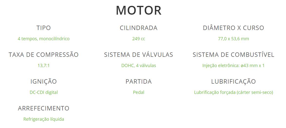 Detalhes Motor
