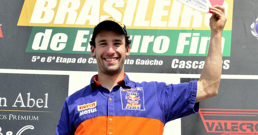 Ian Blythe conquista título do Brasileiro de Enduro FIM