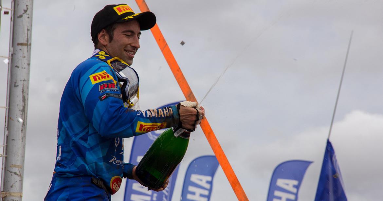 Espanhol vence e fica mais perto do título do Brasileiro de Motocross